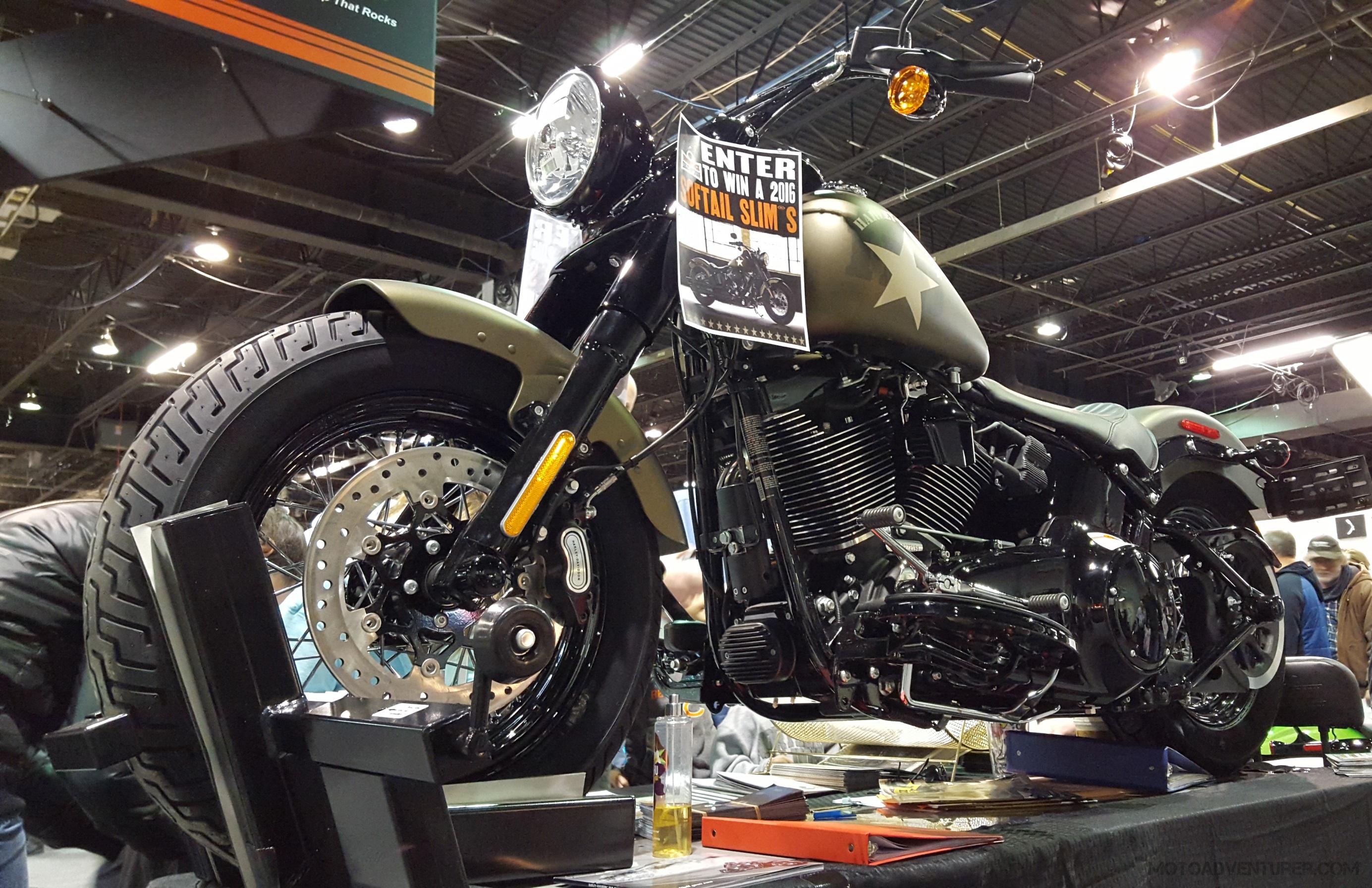 progressive international motorcycle show, chicago: harley
