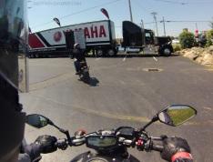 MotoADVR Yamaha FZ-07 demo day