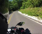MotoADVR Yamaha FZ-07 downhill
