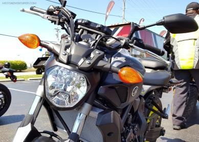 MotoADVR Yamaha FZ-07 Front nose