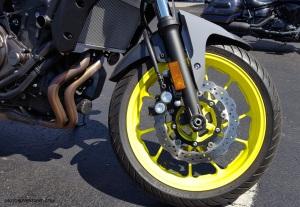 MotoADVR Yamaha FZ-07 Front Wheel