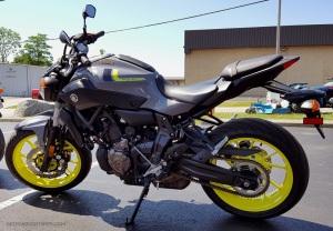 MotoADVR Yamaha FZ-07 Left