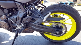 MotoADVR Yamaha FZ-07 Rear Wheel Left