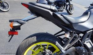 MotoADVR Yamaha FZ-07 Tail
