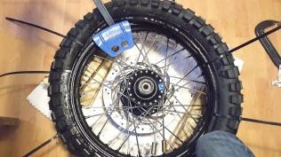 Installing New Tire MotoADVR