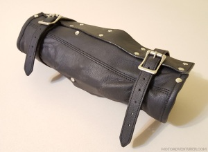 Leather Motorcycle Tool Roll MotoADVR
