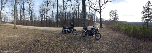 Shawnee State Forest Road 2 MotoADVR