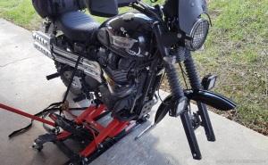 Triumph Scrambler on Jack MotoADVR