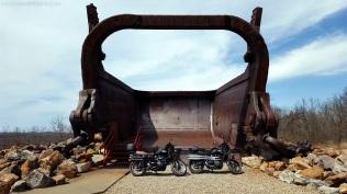 Big Muskie Bucket Triumph Scrambler MotoADVR