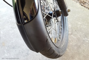 Fenda Extenda Back Triumph Scrambler MotoADVR