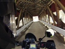 Helmick Covered Bridge Inside
