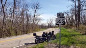The Triple Nickel Ohio Route 555 Triumph Scrambler MotoADVR