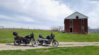 Triumph Scrambler Abandoned Home MotoADVR