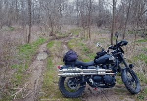 Triumph Scrambler Anthony Road Mud MotoADVR