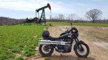 Triumph Scrambler Oil Pumpjack MotoADVR