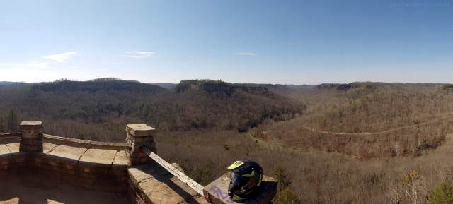 Chimney Top Rock Pano MotoADVR