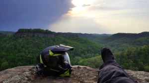 Chimney Top Rock Storms MotoADVR