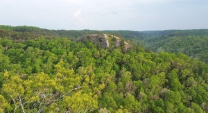 Red River Gorge Halfmoonn Rock MotoADVR