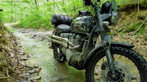 Spaas Creek Road Triumph Scrambler MotoADVR