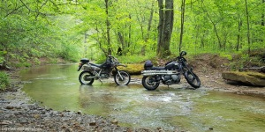 Spaas Creek Road Triumph Scrambler MZ Baghira MotoADVR