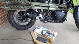 Triumph Scrambler New Chain MotoADVR