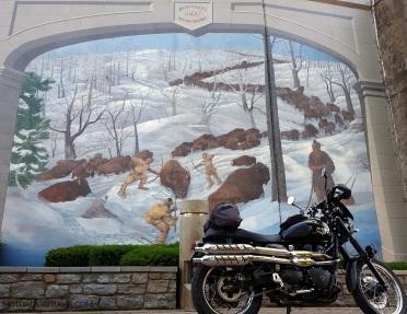 BuffaloTrace Mural Maysville MotoADVR