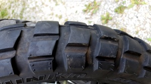 Shinko 804 tread scallop MotoADVR