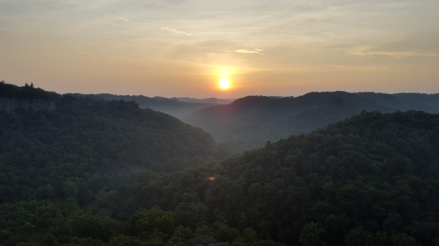 Chimney Top Rock Sunset MotoADVR