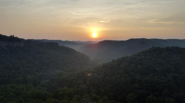 Chimney Top Rock Sunset MotoADVR