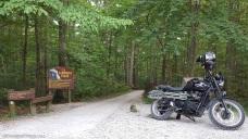 Chimney Top Rock Trail Triumph Scrambler MotoADVR
