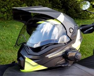 Scorpion Exo-AT950 Helmet FL Visor MotoADVR