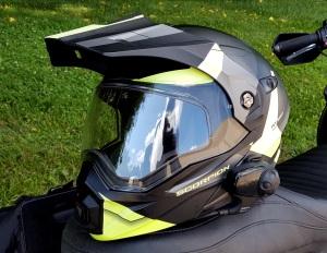 Scorpion Exo-AT950 Helmet Front Left MotoADVR