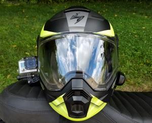 Scorpion Exo-AT950 Helmet front MotoADVR