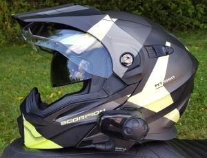 Scorpion Exo-AT950 Helmet Left Inner Visor MotoADVR