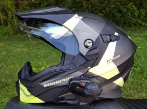 Scorpion Exo-AT950 Helmet Left Visor MotoADVR