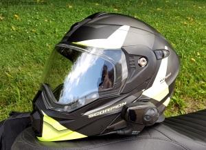Scorpion Exo-AT950 Helmet NoPeak Visor MotoADVR