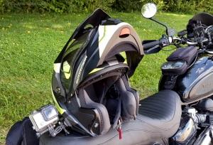 Scorpion Exo-AT950 Helmet ThreeQuarter MotoADVR