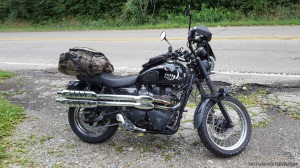 Triumph Scrambler Loaded Up MotoADVR