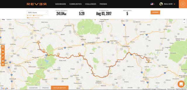 Rever Route