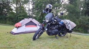 Tent Triumph Scrambler MotoADVR