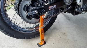 Tirox Snap Jack Installed MotoADVR