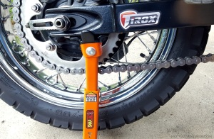 Tirox SnapJack Chain Clean MotoADVR