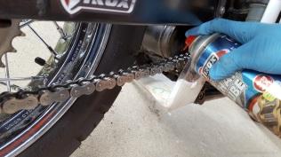 Tirox Ultra Chain Lube with Overspray Guard MotoADVR