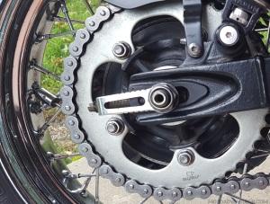 Triumph Scrambler Chain Dirty MotoADVR