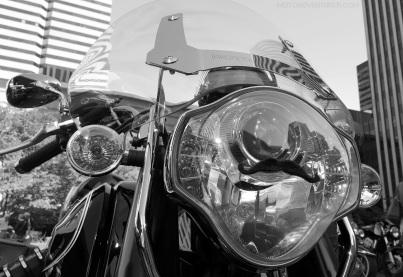 Moto Guzzi Headlight Mustache MotoADVR