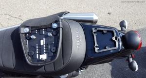 Triumph Street Scrambler Pillion Seat Removed MotoADVR