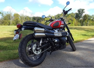Triumph Street Scrambler RR MotoADVR