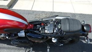 Triumph Street Scrambler Seat Removed MotoADVR