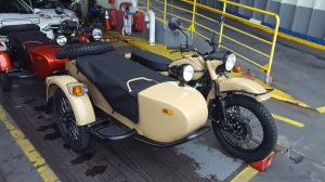 Ural Gear Up Ferry MotoADVR
