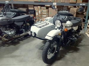 Ural Gear Up LF Rainier White MotoADVR